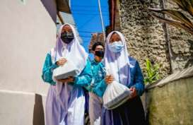 514.079 Siswa Jawa Barat Berbagi Makanan dengan Sesama