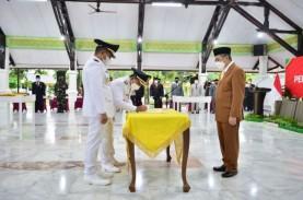 Gubernur Riau Lantik Bupati dan Wabup Pelalawan Terpilih