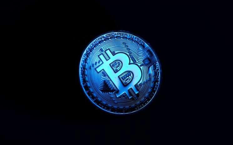 Ilustrasi representasi bitcoin.  - Bloomberg