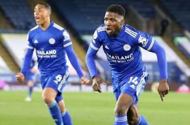 Liga Inggris : Hajar Palace, Leicester Nyaman di Zona…