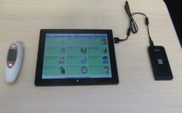 Sistem ini menggunakan termometer nirsentuh atau kamera termo untuk mengukur suhu tubuh karyawan saat mereka memasuki fasilitas.  - Nissan