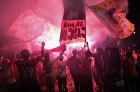 Polisi Identifikasi Akun Medsos Pemicu Kerumunan Suporter…