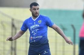 Farshad Noor Didepak dari Persib Bandung