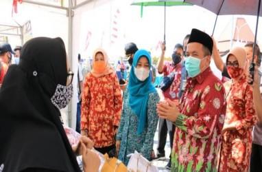 Pemkab Pasuruan Gelar Pasar Murah Ramadan Model Hybrid