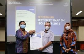 Pos Indonesia Kantongi Sertifikat Manajemen Anti Penyuapan