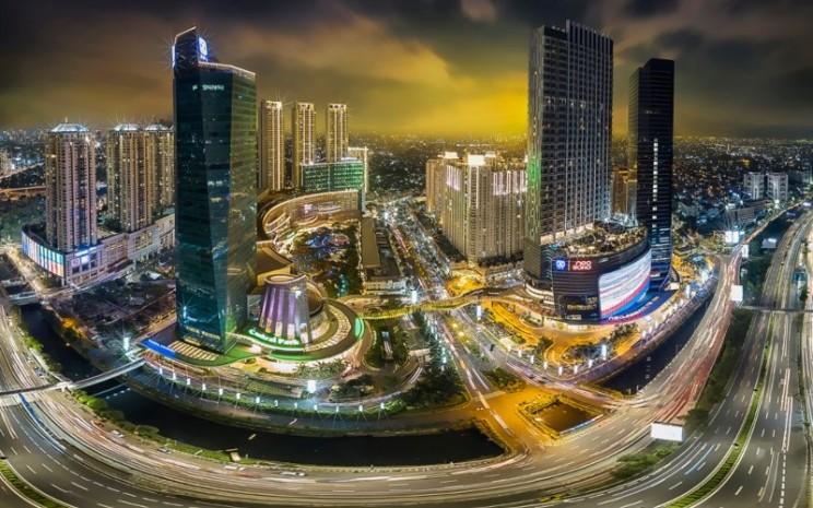 Kawasan Podomoro City, Jakarta. Kawasan ini terdiri dari beberapa properti, mulai dari Central Park hingga Neo Soho Mall. - agungpodomoro