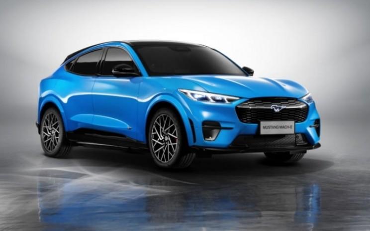 Mustang Mach/E. Produksi lokal di China merupakan langkah kunci dalam strategi Best of Ford, Best of China. /Ford Motor