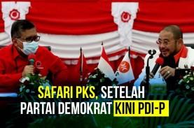 Setelah Partai Demokrat, Kini PKS Sambangi PDI-P