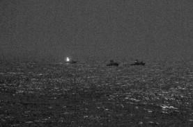 Kapal Perang AS Lepas Tembakan Peringatan Usir Kapal…