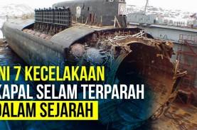 Selain KRI Nanggala 402, Ini Catatan Kecelakaan Kapal…