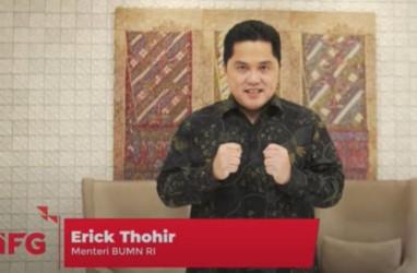 Luhut Sebut Erick Thohir Pertajam Lini Bisnis BUMN