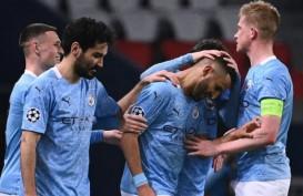 Gasak PSG di Paris, Satu Kaki ManCity Sudah di Final Liga Champions