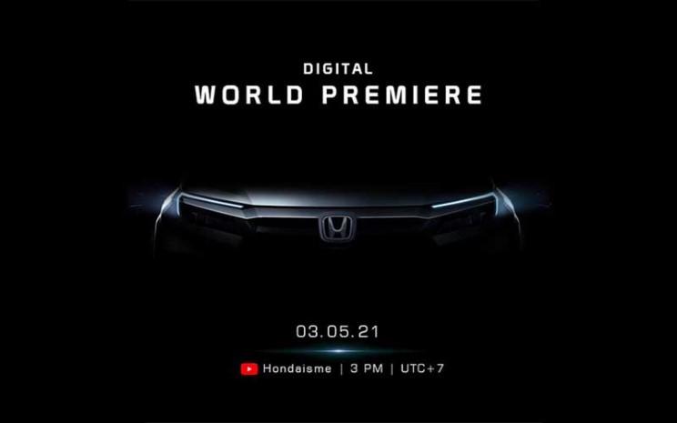 Honda Prospect Motor merilis gambar teaser produk barunya.  - Instagram @hondaisme