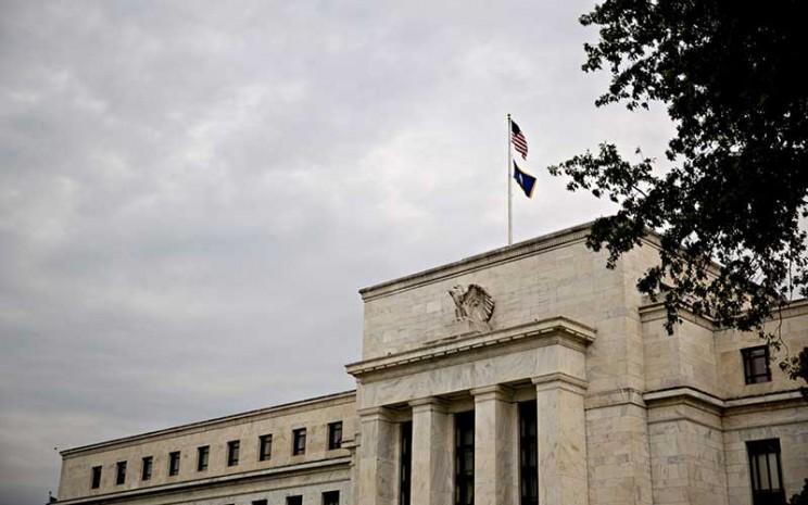 Gedung bank central Amerika Serikat atau The Federal Reserve di Washington, Amerika Serikat, Selasa (13/8/2019). Bloomberg - Andrew Harrer