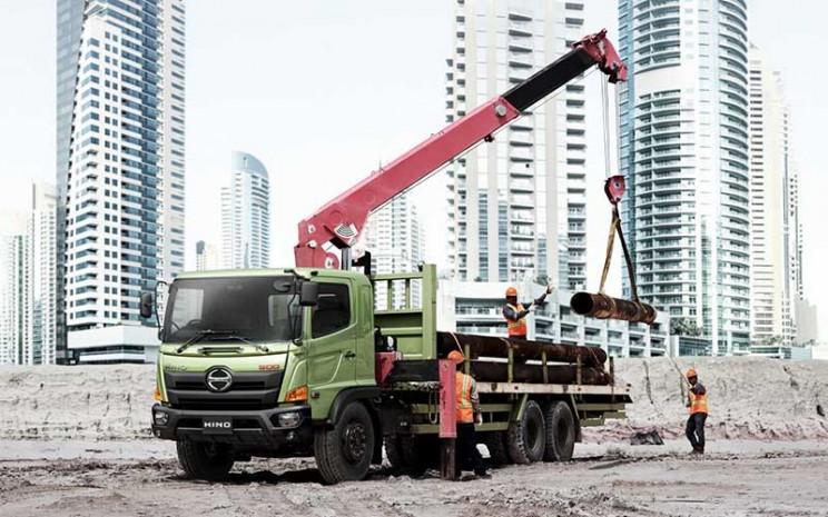 Hino Ranger yang telah menggunakan mesin common rail -  PT Hino Motor Sales Indonesia