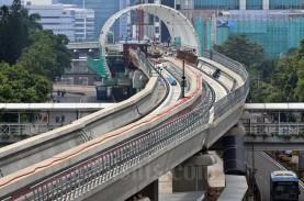 Sentuh Rp15 Triliun, Pembiayaan LRT Pembangunan Jaya…