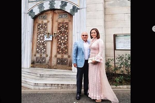 Maia Estianty dan suami, Irwan Mussry - Instagram @