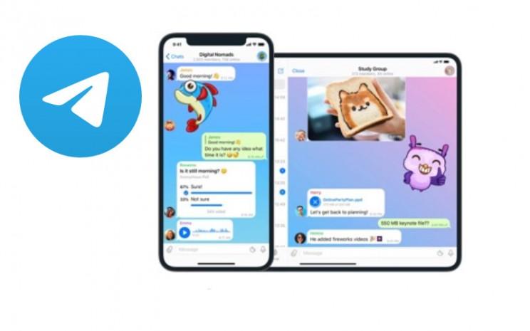 Telegram adalah aplikasi perpesanan seluler dan desktop berbasis cloud dengan fokus pada keamanan dan kecepatan.  - Telegram