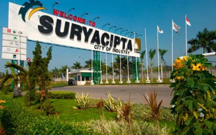 Kawasan Industri Surya Cipta, Kawarang. Kawasan ini dikelola PT Surya Semesta Internusa Tbk. - suryainternusa.com