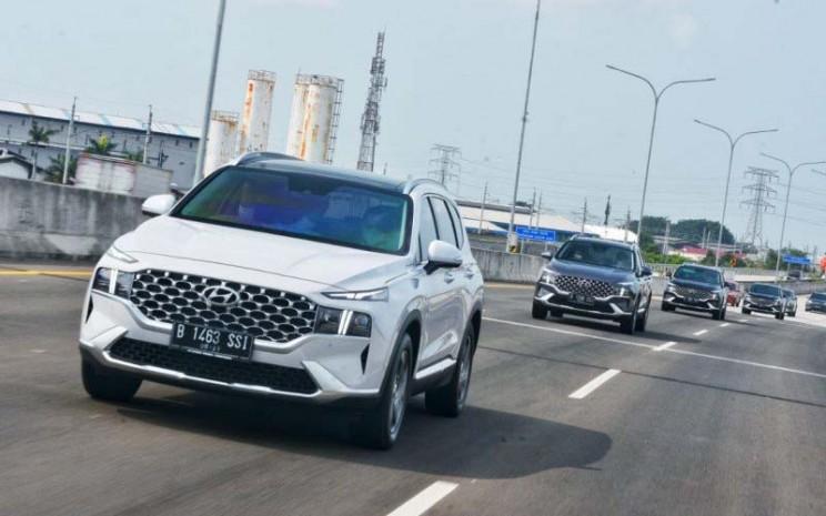 New Hyundai Santa Fe. /Antara - PT HMID