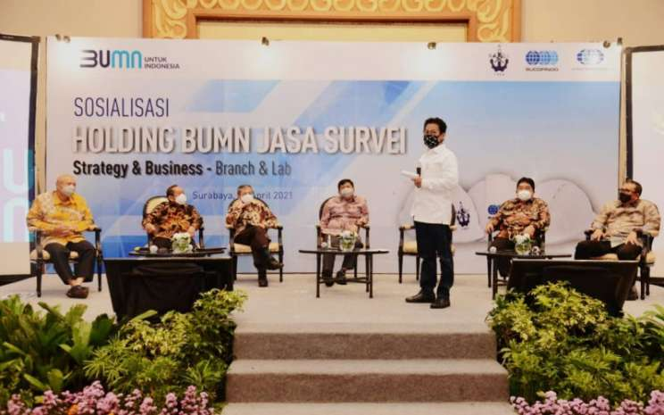 Holding BUMN Jasa Survei, Wujudkan Market Leader Asean - Istimewa