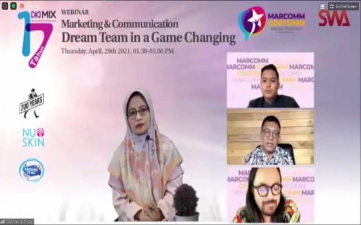 Acara Marketing & Communication Dream Team in a Game Changing. - Istimewa