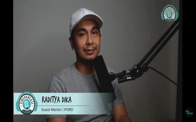 Penulis Raditya Dika - Akbar Evandio/Bisnis