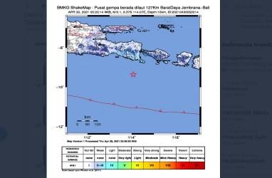 Gempa M 5,1 Guncang Bali, BMKG: Tidak Berpotensi Tsunami