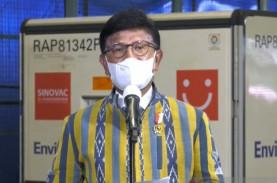 Lagi, Indonesia Terima 6,48 Juta Vaksin Sinovac dan…