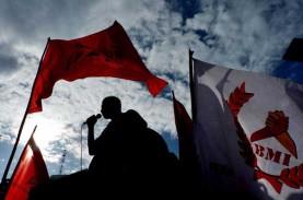6.349 Personel TNI-Polri Siap Bubarkan Aksi Buruh