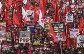 May Day, Aksi Buruh di 15 Provinsi Tuntut Pencabutan UU Cipta Kerja