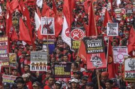 May Day, Aksi Buruh di 15 Provinsi Tuntut Pencabutan…