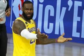 Kehadiran LeBron James Belum Bisa Bawa Lakers Raih…