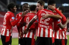 Jadwal & Klasemen Liga Belanda, PSV Berjuang di Slot…