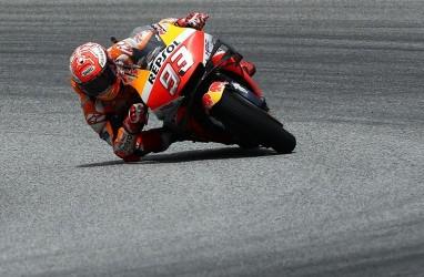 MotoGP: Marc Marquez Alami Kecelakaan Hebat di FP3 GP Spanyol
