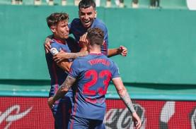 Hasil La Liga Spanyol, Atletico Pastikan Bertahan…