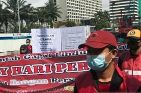 May Day: Sahkan UU Ciptaker, DPR Klaim Selalu Pehatikan…