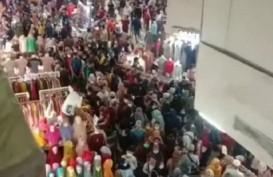 Viral Pengunjung Tanah Abang Berdesakan, Polda Metro Jaya-TNI Buat Posko Pengamanan
