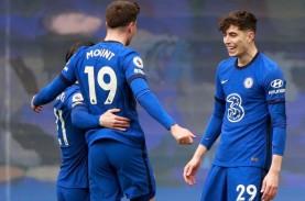 Hasil Liga Inggris, Chelsea Makin Dekat ke Tiket Liga…