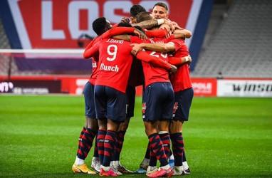 Hasil Liga Prancis, Lille Balik Gusur PSG dari Pucuk Klasemen