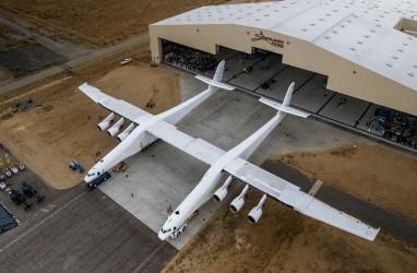 Pesawat Raksasa Terbesar di Dunia, Telah Lalui Uji Coba Terbang ke 2