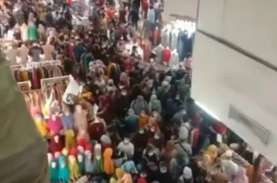 Serem! Kerumunan di Pasar Tanah Abang Begini Amat.…