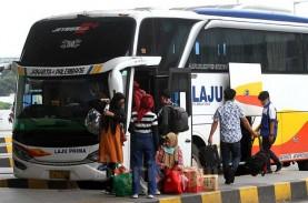 Larangan Mudik, Bus AKAP dan AKDP Jabodetabek Setop…