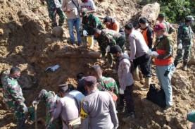 Tanah Longsor di Tapanuli Selatan, BNPB: 8 Orang Masih…