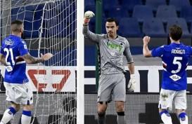 Emil Audero Mulyadi Gagalkan Penalti, Sampdoria Sikat Roma 2–0
