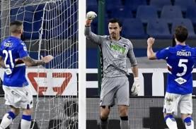 Emil Audero Mulyadi Gagalkan Penalti, Sampdoria Sikat…