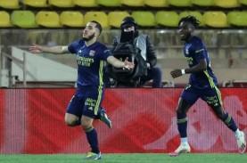10 Pemain Lyon Hajar Monaco, Jaga Peluang Juara Liga…