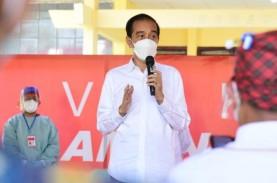Jokowi Minta Seluruh Pedagang Pertokoan dan Mal Divaksin…