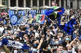 Juara Serie A Italia, Inter Milan Memainkan Sepak…