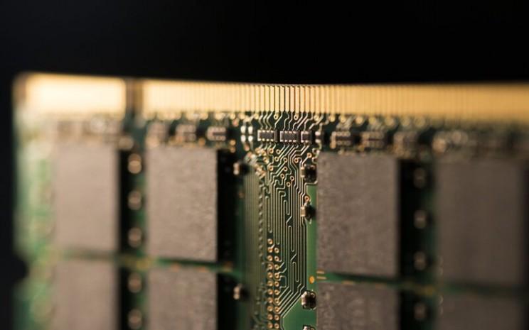 Ilustrasi chip -  Bloomberg